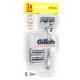 Gillette SkinGuard Sensitive Systemklingen 3er + Handstück