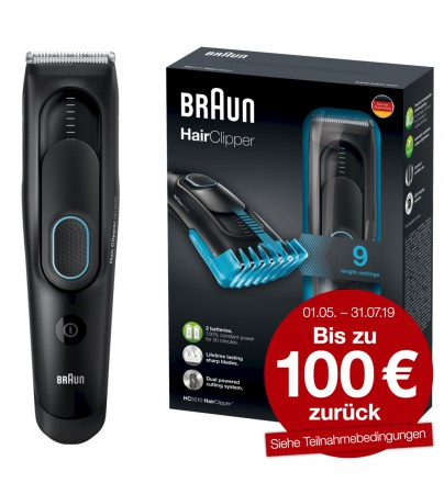 Braun HairClipper HC5010