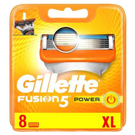 Gillette Fusion5 Power Systemklingen 8er Pack