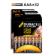 Duracell Batterien Plus Power-AAA(MN2400/LR03)K32