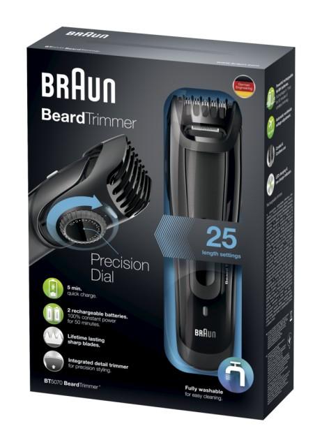 Braun-BeardTrimmer-BT5070-Barttrimmer-Bartschneider-Rasierer-schwarz
