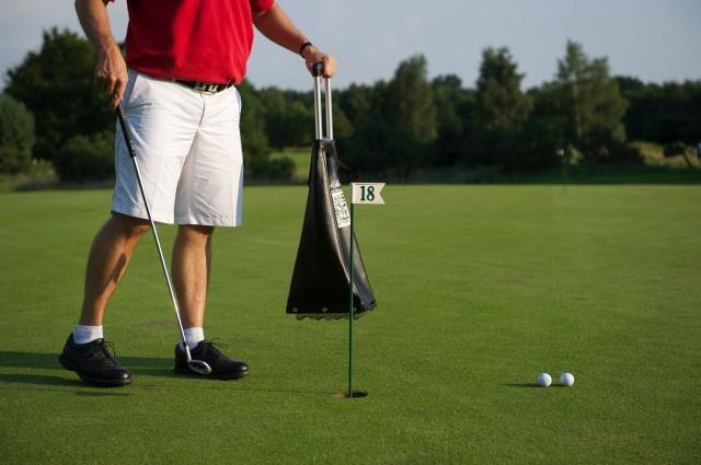 Golfbälle Sammeln
