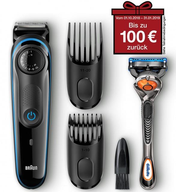 Braun BeardTrimmer BT3040 Barttrimmer Bartschneider Rasierer schwarz