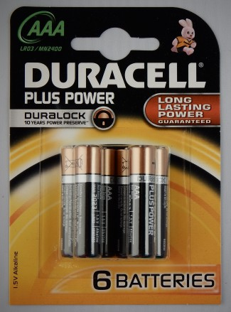 10 x 6 Stück Duracell Batterien Plus Power-AAA(MN2400/LR03)